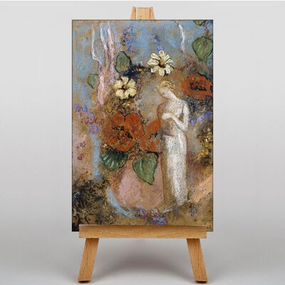 Big Box Art Pandora by Odilon Redon Art Print on Canvas
