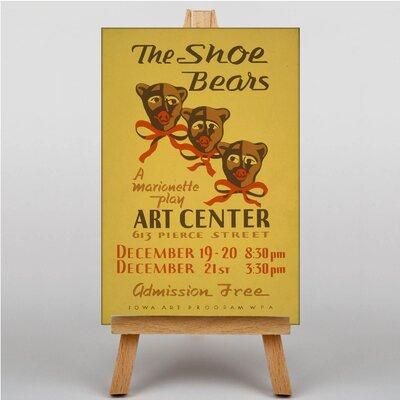Big Box Art The Shoe Bears Vintage Advertisement on Canvas