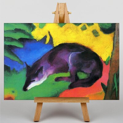 Big Box Art The Wolf by Franz Marc Art Print on Canvas