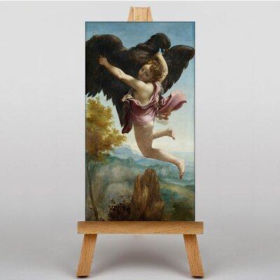 Big Box Art The Abduction of Ganymede by Correggio Art Print on Canvas