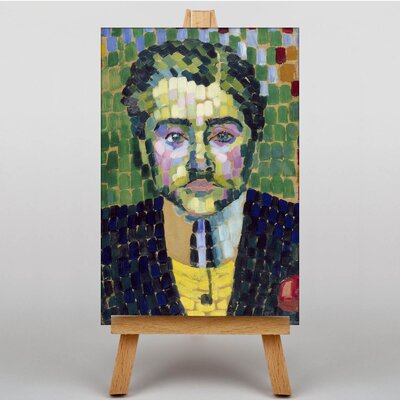 Big Box Art Jean Metzinger by Robert Delaunay Art Print on Canvas
