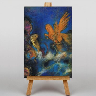 Big Box Art The Lighter of Dreams by Odilon Redon Art Print on Canvas