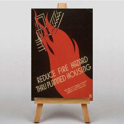 Big Box Art Planned Housing Vintage Advertisement on Canvas