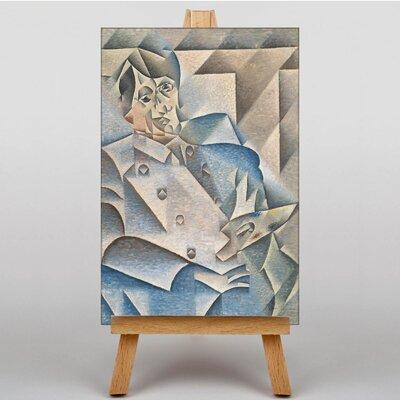 Big Box Art Portrait of Pablo Picasso by Juan Gris Art Print on Canvas