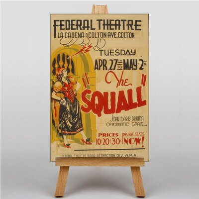 Big Box Art The Squall Vintage Advertisement on Canvas