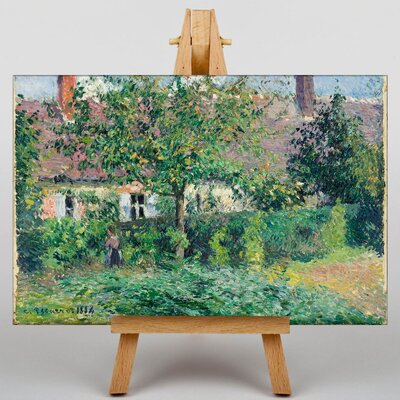 Big Box Art The Peasant House by Camille Pissaro Art Print on Canvas