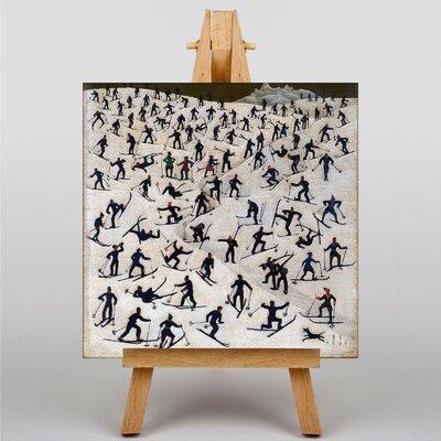 Big Box Art Skiers by Franz Sedlacek Graphic Art on Canvas