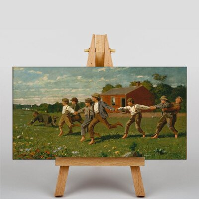 Big Box Art Snap the Whip by Winslow Homer Art Print on Canvas
