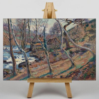 Big Box Art The Trees by Camille Pissarro Art Print on Canvas