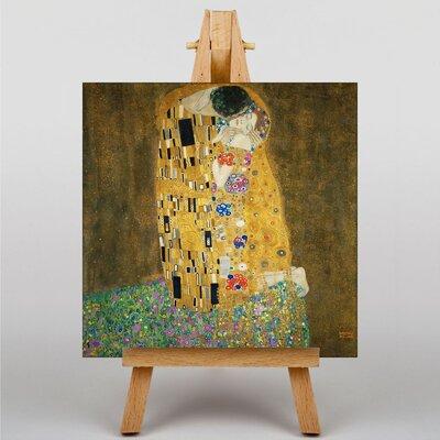 Big Box Art The Kiss No.2 by Gustav Klimt Art Print on Canvas