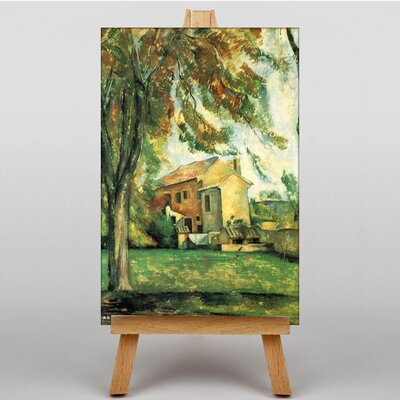 Big Box Art Landscape by Paul Cezanne Art Print on Canvas
