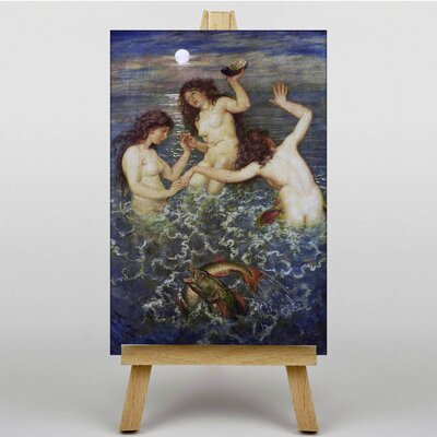Big Box Art The Shell of Venus by Hans Thoma Art Print on Canvas