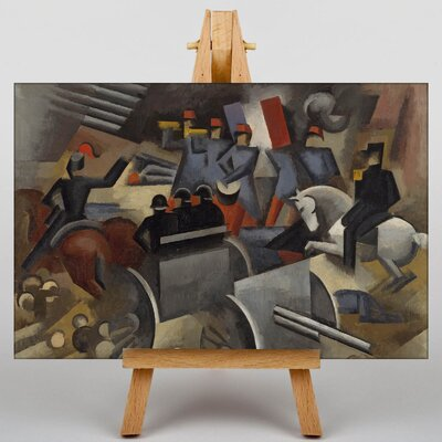 Big Box Art Artillery by Roger de la Fresnaye Art Print on Canvas