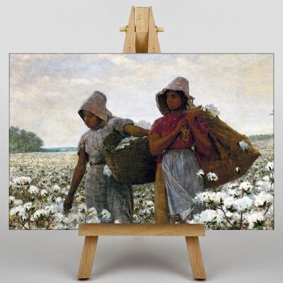 Big Box Art The Cotton Pickers by Winslow Homer Art Print on Canvas