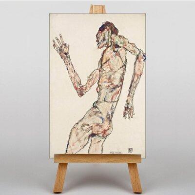 Big Box Art The Dancer by Egon Schiele Art Print on Canvas