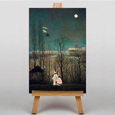 Big Box Art Carnival Evening by Henri Rousseau Art Print on Canvas