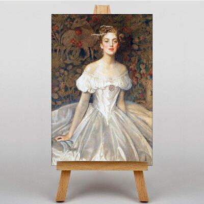 Big Box Art Elizabeth Witts by Frank Cowper Cadogan Art Print on Canvas