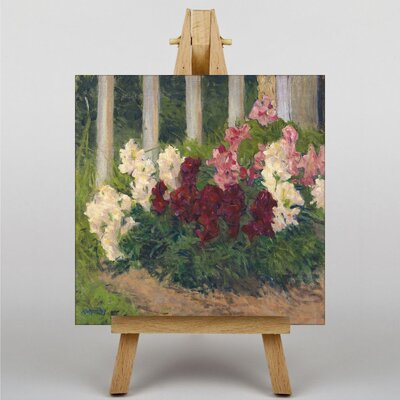 Big Box Art Flowers No.2 by Carl Moll Art Print on Canvas