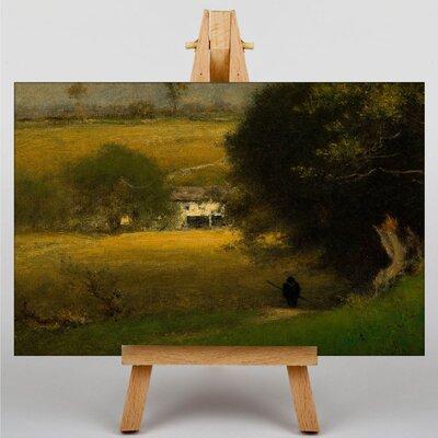Big Box Art Landscape by George Innes Art Print on Canvas