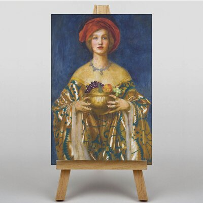 Big Box Art The Golden Bowl by Frank Cowper Cadogan Art Print on Canvas