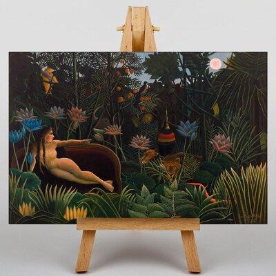 Big Box Art Le Reve by Henri Rousseau Art Print on Canvas