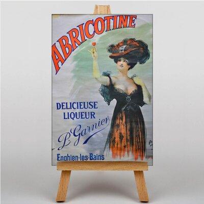 Big Box Art Abricotine Vintage Advertisement on Canvas