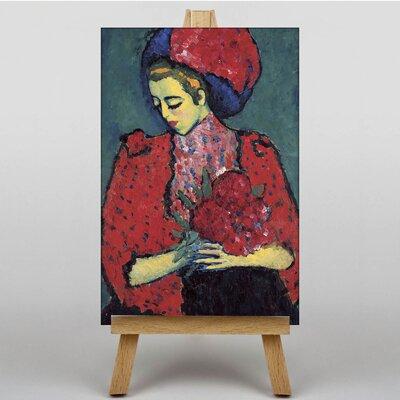 Big Box Art Holding Flowers by Alexi Von Jawlensky Art Print on Canvas