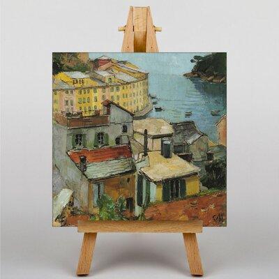 Big Box Art Portofino by Carl Moll Art Print on Canvas
