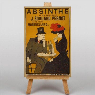 Big Box Art Absinthe Vintage Advertisement on Canvas
