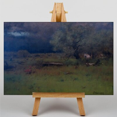 Big Box Art The Passing Storm by George Innes Art Print on Canvas