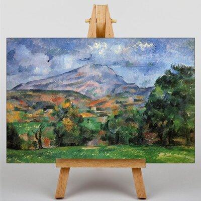 Big Box Art Montagne Sainte Victoire No.2 by Paul Cezanne Art Print on Canvas