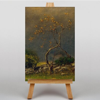 Big Box Art Tree by George Innes Art Print on Canvas