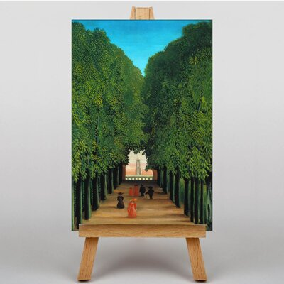 Big Box Art The Avenue in the Park by Henri Rousseau Art Print on Canvas