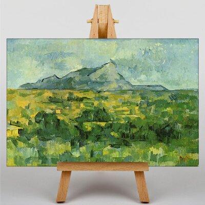 Big Box Art Montagne Sainte Victoire by Paul Cezanne Art Print on Canvas