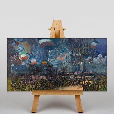 Big Box Art Armistice Night by George Luks Art Print on Canvas