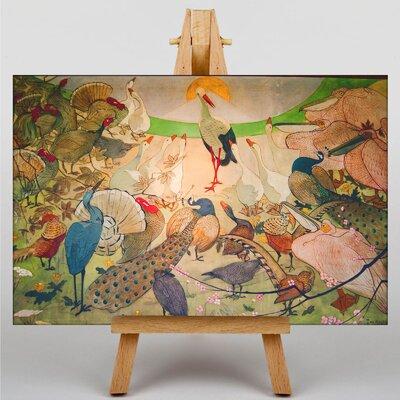 Big Box Art Birds Art Print on Canvas