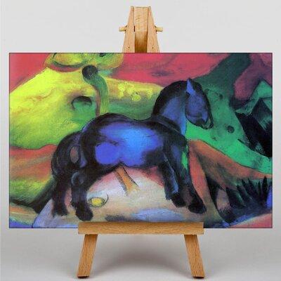 Big Box Art Blue Horse No.2 by Franz Marc Art Print on Canvas