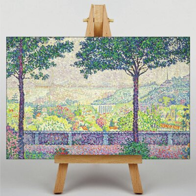 Big Box Art Terrace of Meudon by Paul Signac Art Print on Canvas