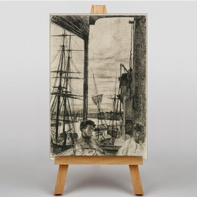 Big Box Art Rotherhithe by James McNeill Whistler Art Print on Canvas