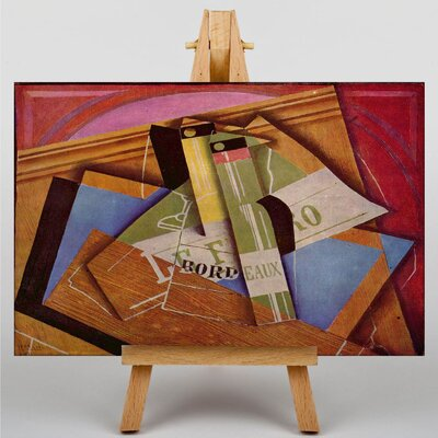 Big Box Art Still Life by Juan Gris Art Print on Canvas