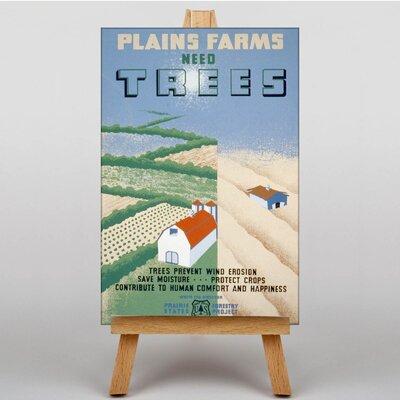 Big Box Art Need Trees Vintage Advertisement on Canvas
