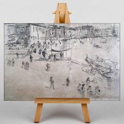 Big Box Art Sketch by James McNeill Whistler Art Print on Canvas