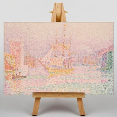 Big Box Art The Harbour at Marseilles by Paul Signac Art Print on Canvas