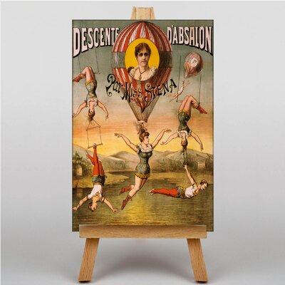 Big Box Art Circus Vintage Advertisement on Canvas