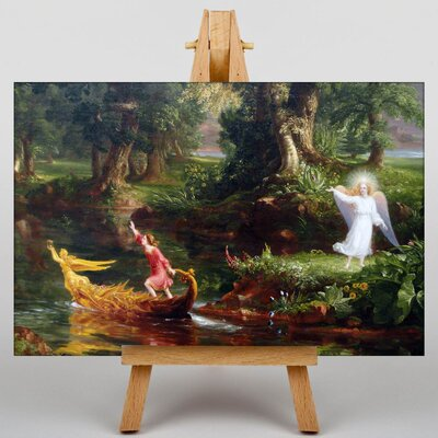Big Box Art The Voyage of Life Youth by Thomas Cole Art Print on Canvas