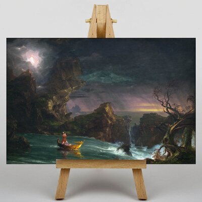 Big Box Art The Voyage of Life by Thomas Cole Art Print on Canvas