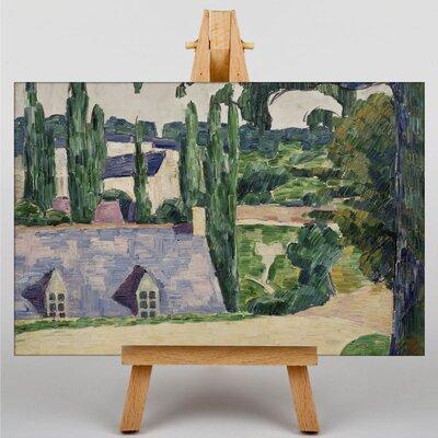 Big Box Art Landscape at Pont-Aven by Emile Bernard Art Print on Canvas