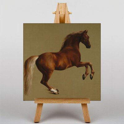 Big Box Art Whistlejacket Horse by George Stubbs Art Print on Canvas