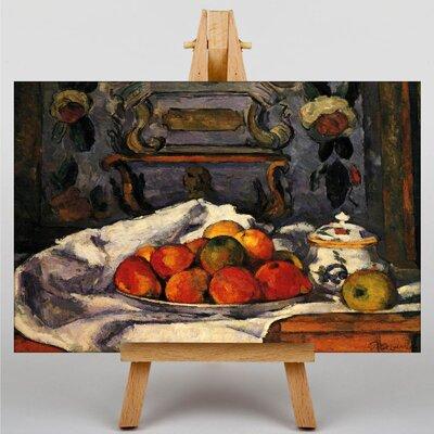 Big Box Art Still Life No.3 by Paul Cezanne Art Print on Canvas