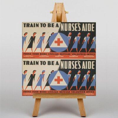 Big Box Art Nurse's Aide Vintage Advertisement on Canvas